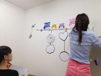 学童保育所FunFunKids 装飾事例